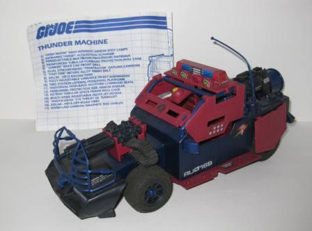 Dreadnok Thunder Machine (1986) w/ Inst - G.I. Joe